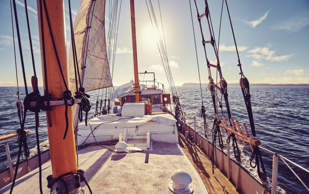 Mazury obóz żeglarski